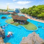 東条湖おもちゃ王国のプールで日陰のある場所取りはここしかない!