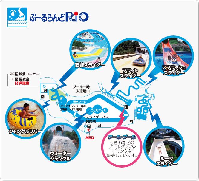 みさき公園マップ