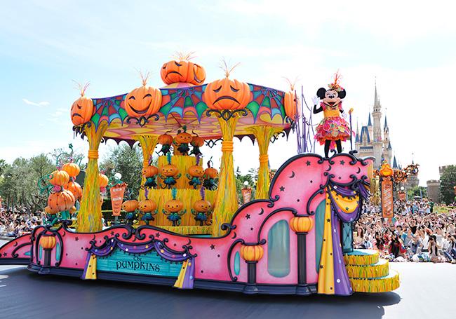 ディズニーハロウィンパレード